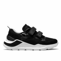 d.a.t.e sneakers scratch noir