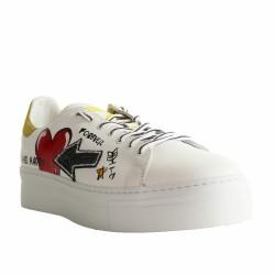 sneakers peinture main