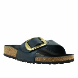 birkenstock madrid big buccle blu