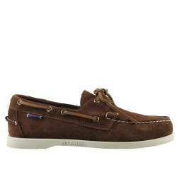 sebago dockside velours marron