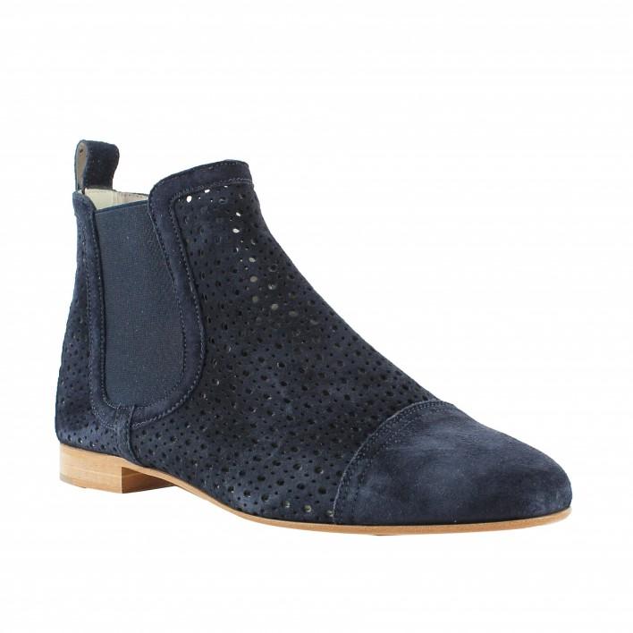 pertini boots velours ajouré