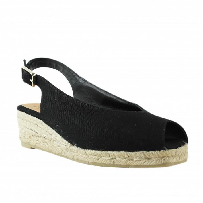 castaner open toe noir