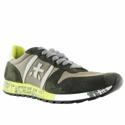 premiata sneakers velours et toile