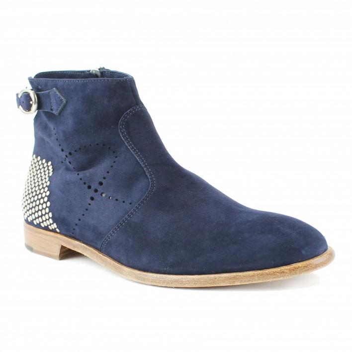 triver flight boots à boucle bleue