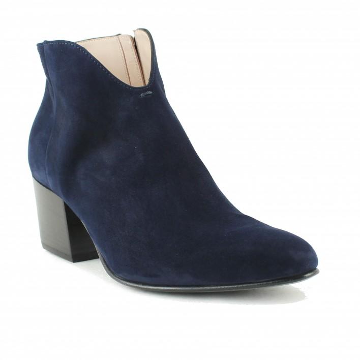 triver flight boots velours bleu