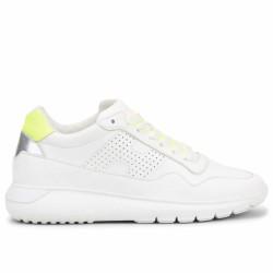 hogan sneakers cuir fluo
