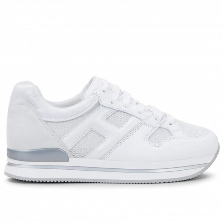 Hogan - H222-GRANDE - Sneakers à plateaux - blanc