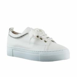 agl sneakers cuir blanc