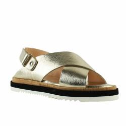 agl sandale dorée