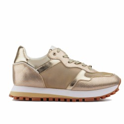 liu.jo sneakers cuir gold