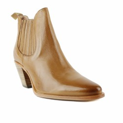 Muratti - RESEDA - Boots type santiag en cuir - gold