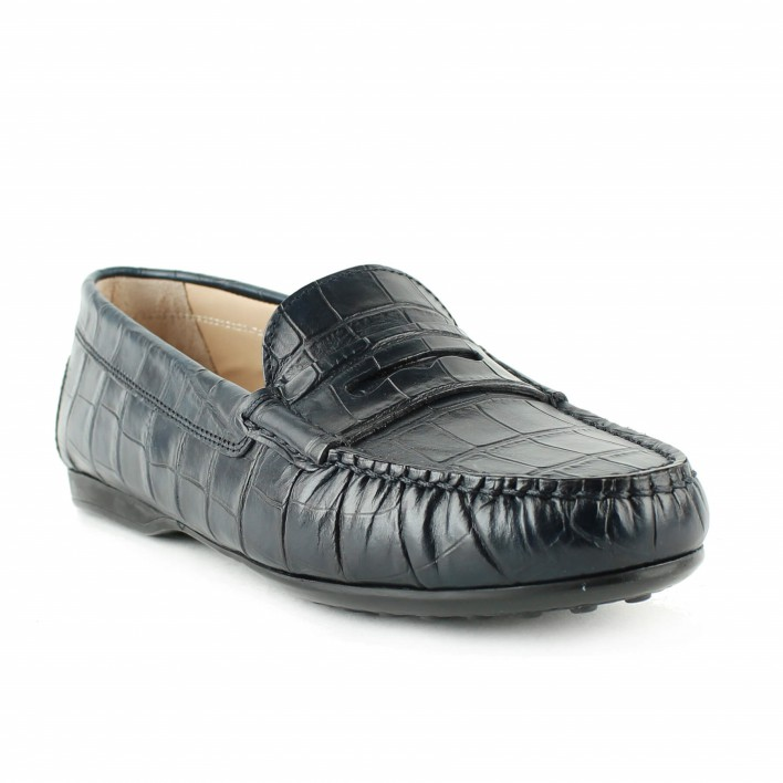triver flight mocassion croco
