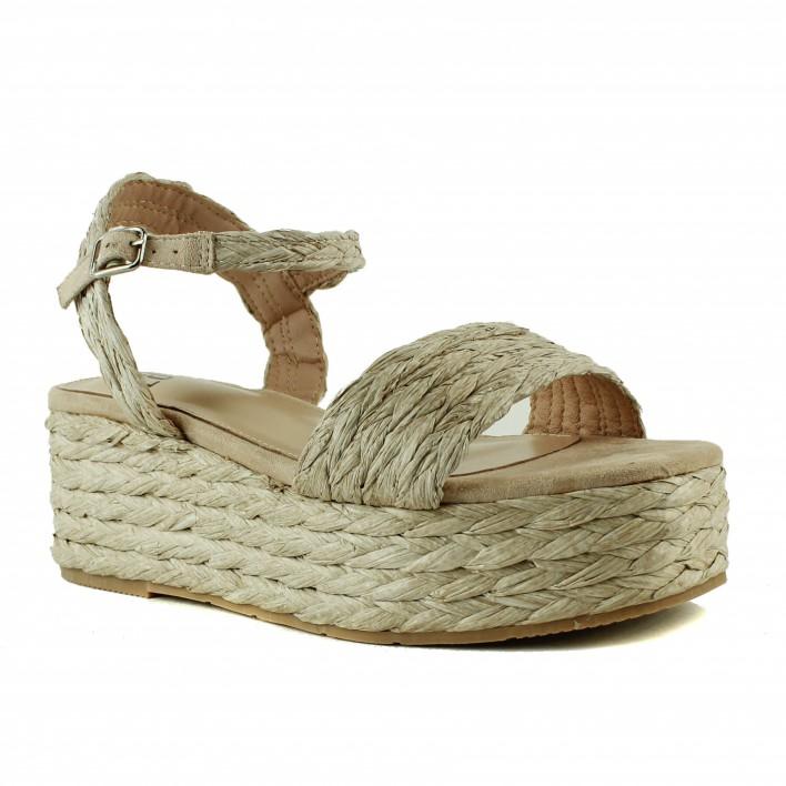 bibi lou sandales plateformes