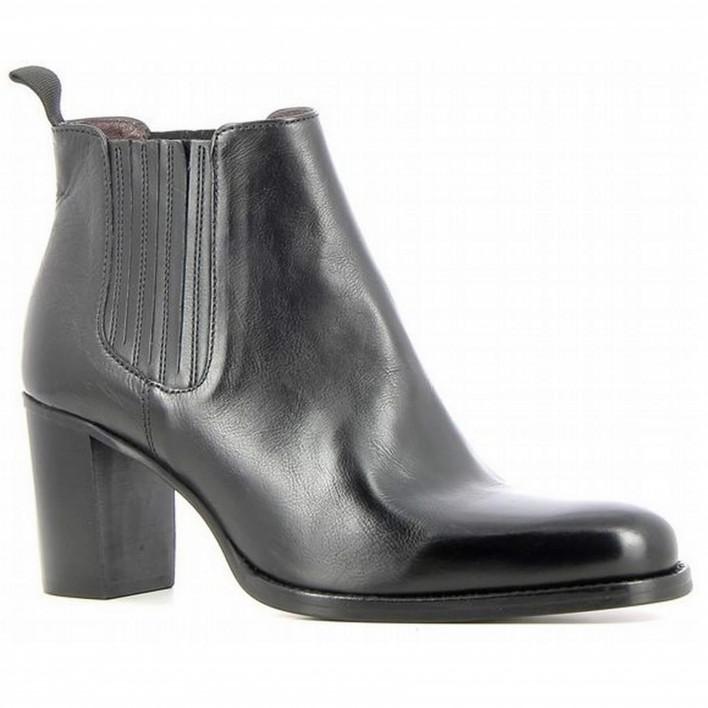 Muratti - JULIETTE - Boots chelsea à talons - noir
