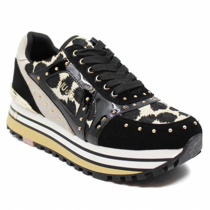 liu.jo sneakers léopard wonder maxi