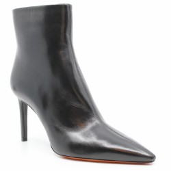 santoni bottines à talon noires