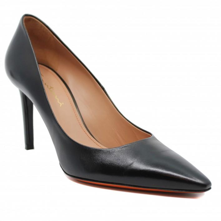 santoni escarpin stiletto noir