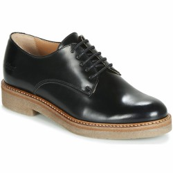 kickers derby cuir glacé oxford