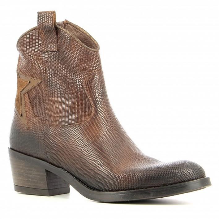 coco et abricot boots reptile dalou