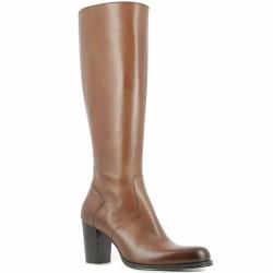 muratti bootes à talon cognac