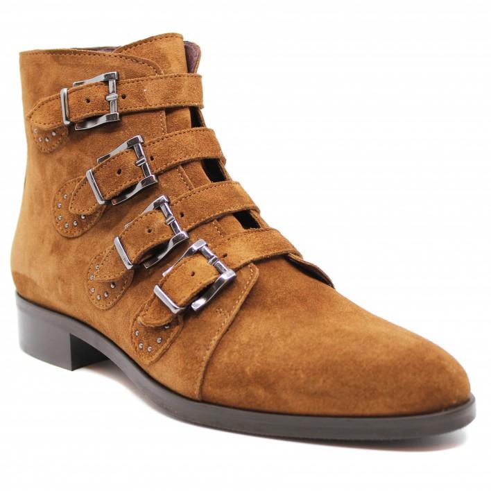 muratti boots à boucles ranchester