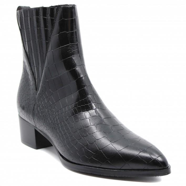 pertini boots effilées croco 202w30157c18