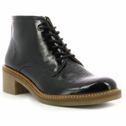 kickers boots noires oxygenion
