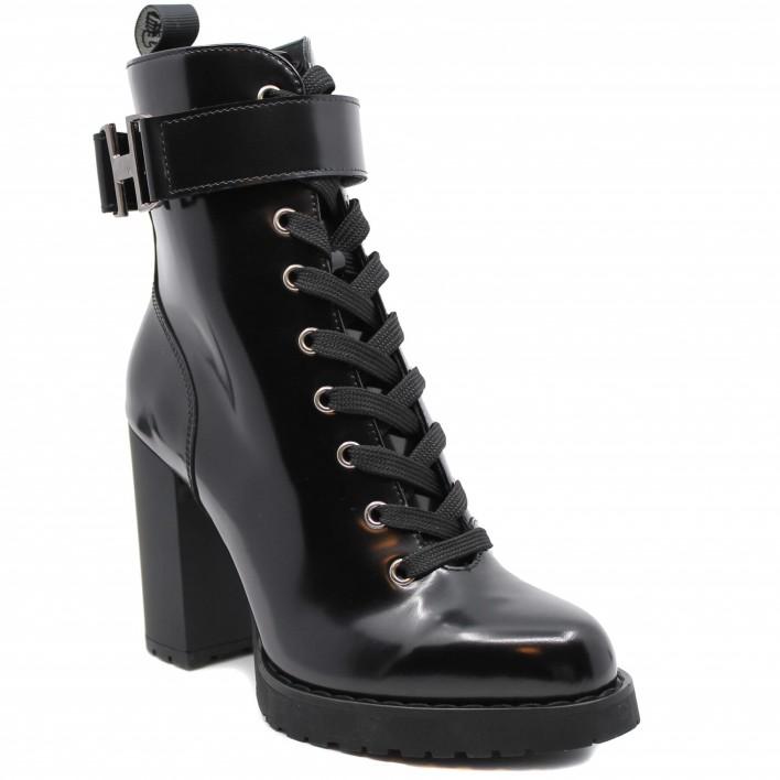 hogan boots à lacets h452