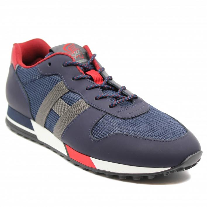 Hogan - H383-NASTRO - Sneakers bicolores - bleu/rouge