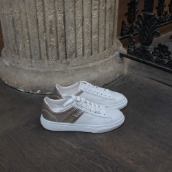 hogan sneakers bi-color cuir h365-p97