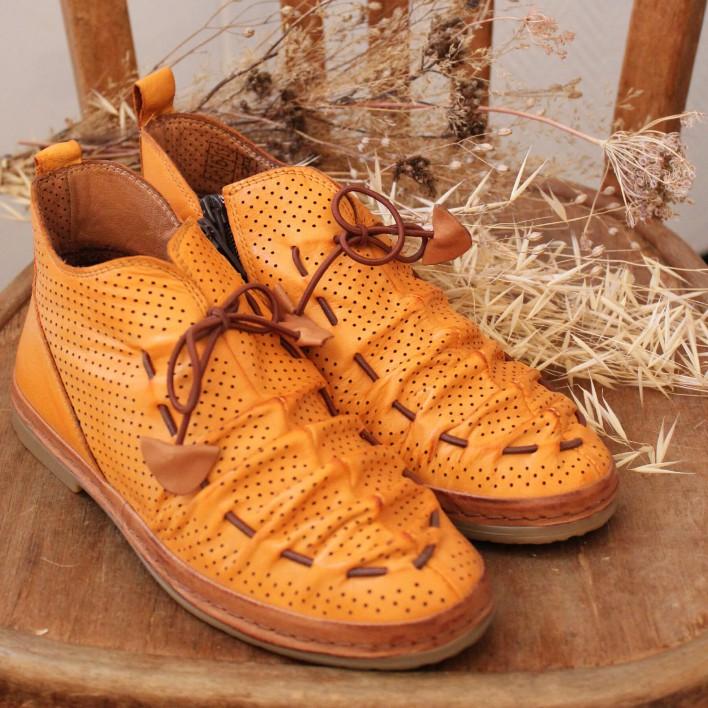 coco et abrico boots lacets sadia-v1449a