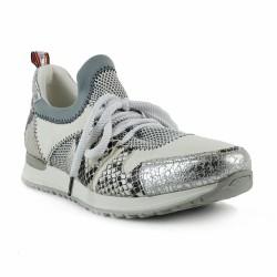 rosemetal sneakers python blanc