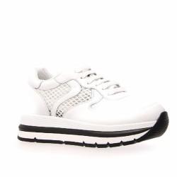 voile blanche tennis blanches
