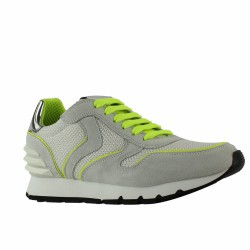 voile blanche sneakers fluo