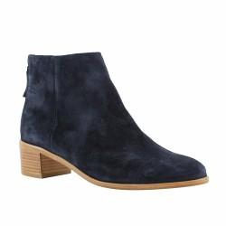 pertini boots zip arrière bleues