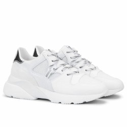 Hogan - ACTIVE ONE-H385 - Sneakers running - blanc/argent