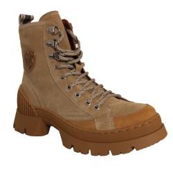 Philippe Morvan - CORTEX - Boots style randonnées - beige