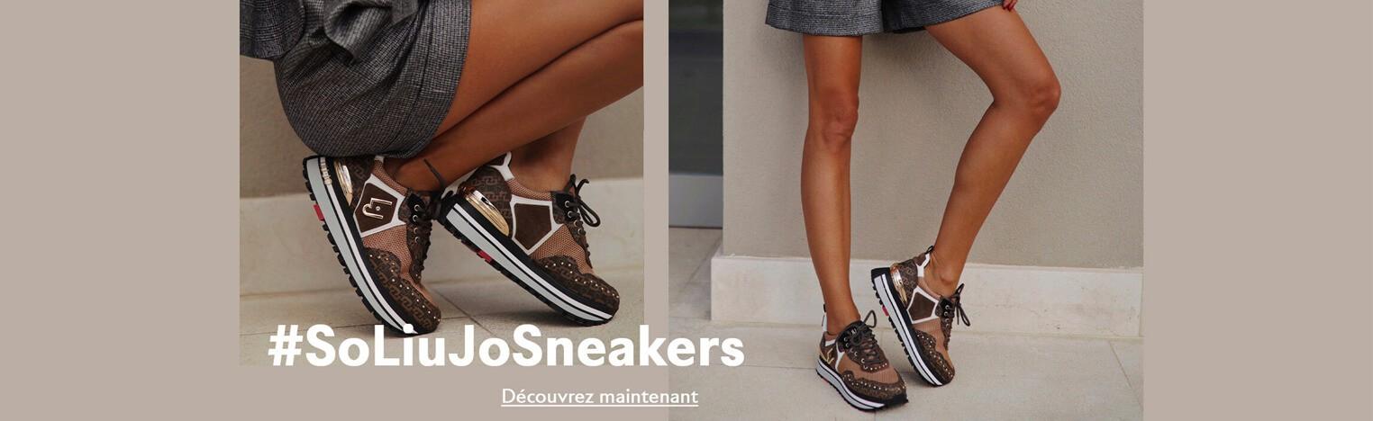 Nouvelle collection de sneakers LIU.JO