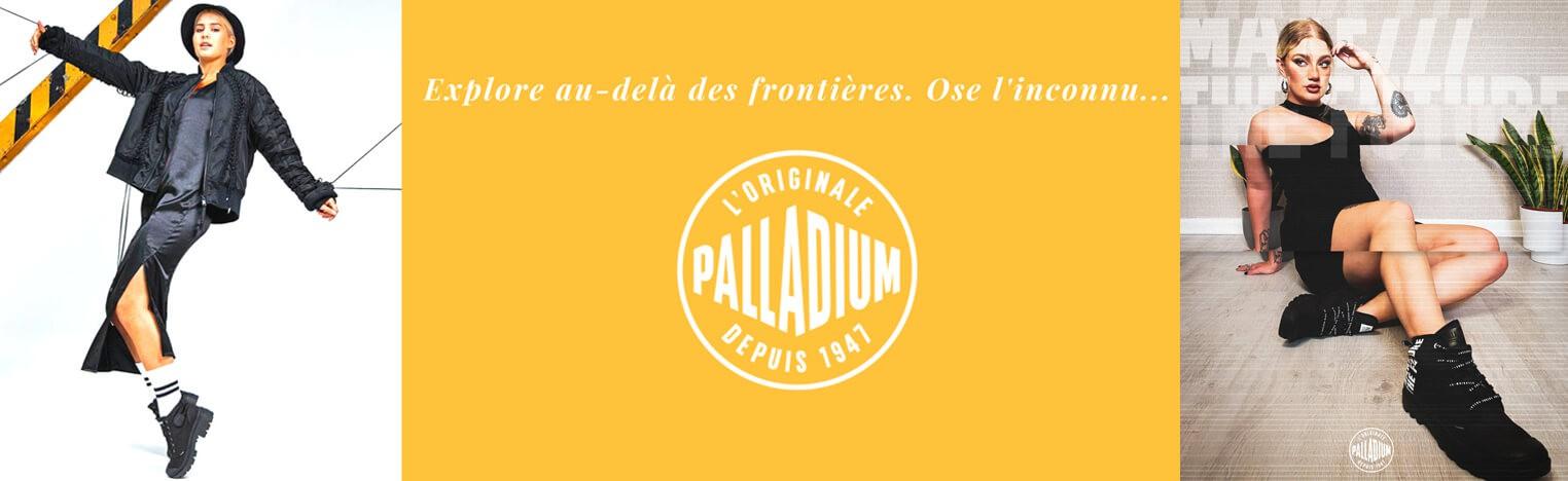 Nouvelle collection Palladium